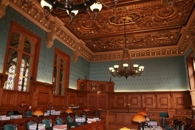 Monuments historiques manufacture prelle for Chambre de justice