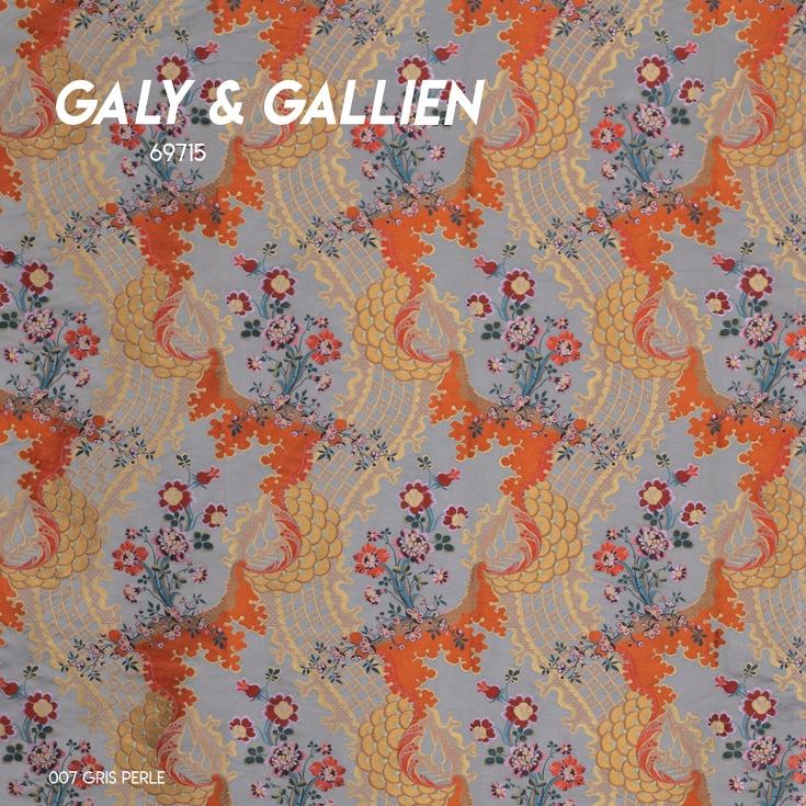 Satin Liseré Galy & Gallien
